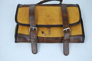 505079bb87 Image is loading Vetelli-Leather-Men-039-s-Toiletry-Dopp-Kit-