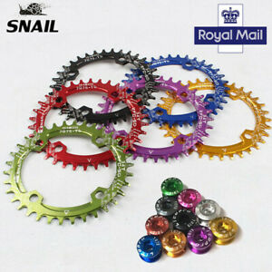 SNAIL-32T-42T-XC-AM-DH-MTB-Bike-Narrow-Wide-Chainring-104bcd-Single-Chainwheels