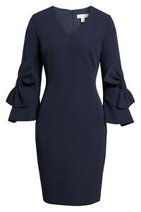 STUNNING-EMERSON-ROSE-BOW-SLEEVE-DRESS-SIZE-4