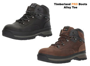 9d431c6639c Timberland PRO Work Boots Black Euro Hiker Alloy Toe Waterproof Work ...