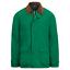 Polo-Ralph-Lauren-Mens-Leather-Twill-Barn-Coat-Aviator-Green-Jacket-Parka-NWT thumbnail 1
