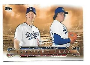 CLAYTON-KERSHAW-2015-TOPPS-INSPIRED-PLAY-I-7-FREE-COMBINED-SHIPPING