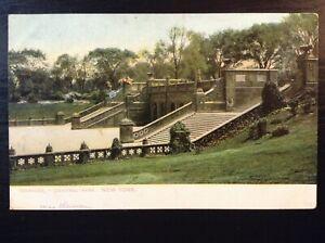 Vintage-Postcard-gt-1901-1907-gt-Central-Park-gt-Terraces-gt-Steps-in-Park-gt-New-York