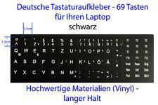 Tastaturaufkleber Deutsche Deutsch German Laptop Tastatur Aufkleber Notebook bl.