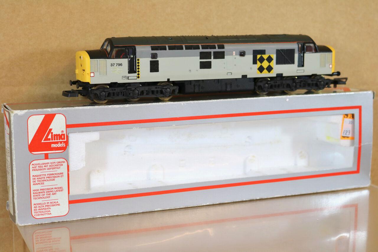 LIMA 205078 REFINISHED BR RAILFREIGHT COAL COAL COAL CLASS 37 DIESEL LOCO 37796 nj 2e1bf6
