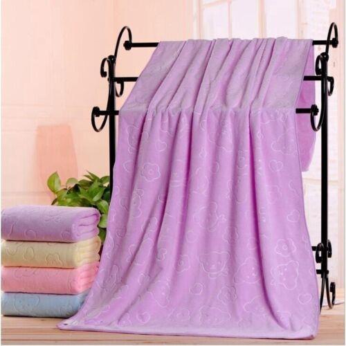 Large Microfiber Quick-Drying Towels Beach Swim Gym Shower Bath Towel 70x140cm