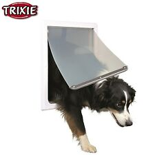 item 3 Trixie Pet Products 2-Way Locking Dog Door For Medium to X-Large Dogs White 3879 -Trixie Pet Products 2-Way Locking Dog Door For Medium to X-Large ...  sc 1 st  eBay & Trixie Pet Products 2-way Locking Dog Door for Medium to Dogs White ...