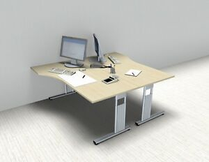 Doppelarbeitsplatz Gs2 Pc Schreibtische Schreibtisch