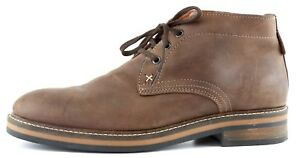 5a512dfdf3f Wolverine Francisco Leather Chukka Boot Brown Men Sz 8 1027 | eBay