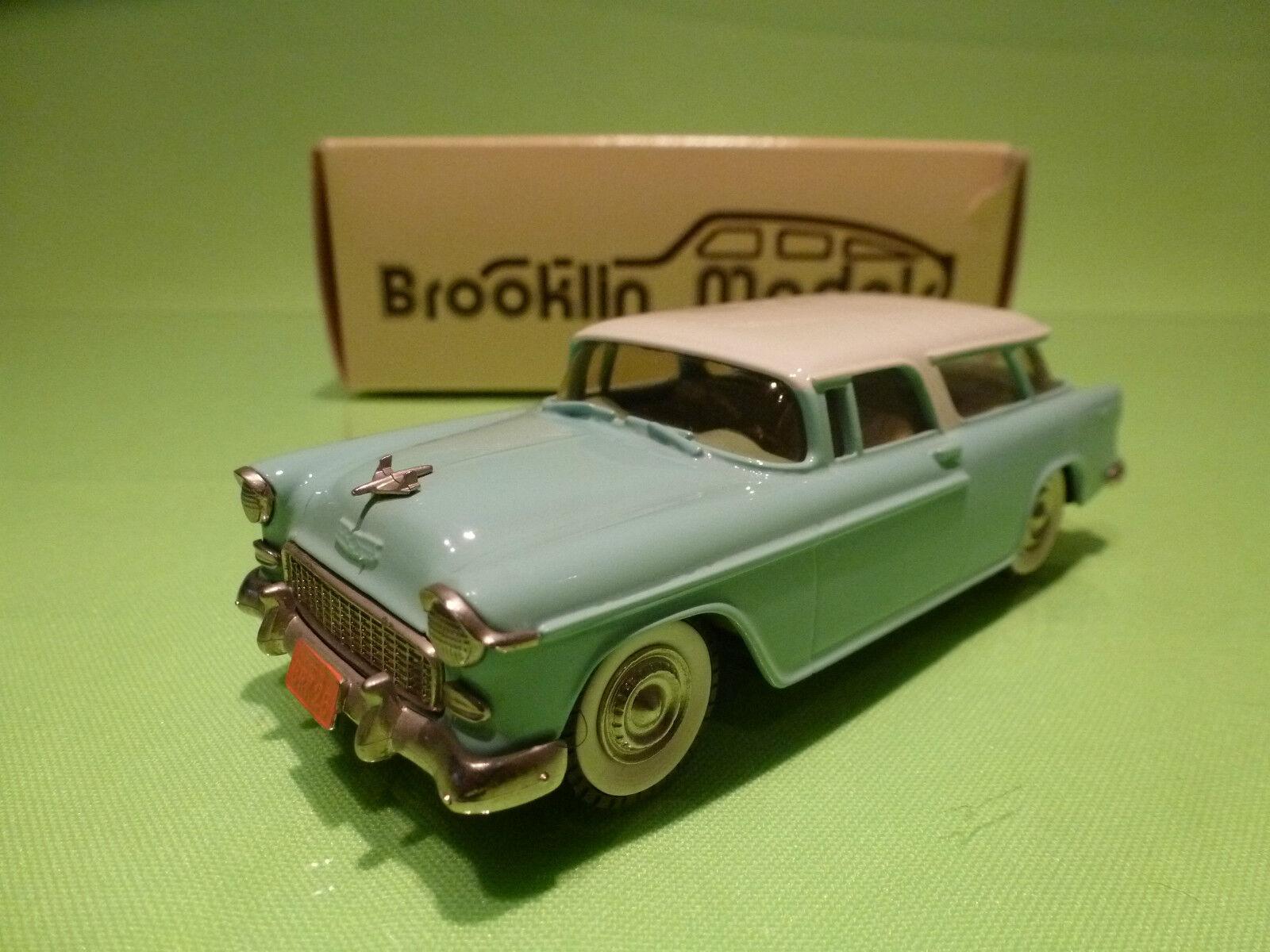 BROOKLIN MODELS BRK 26 CHEVROLET NOMAD 1955 - 1 43 - NMIB