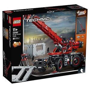 LEGO-Technic-42082-Gelandegangiger-Kranwagen-SOFORTIGER-VERSAND