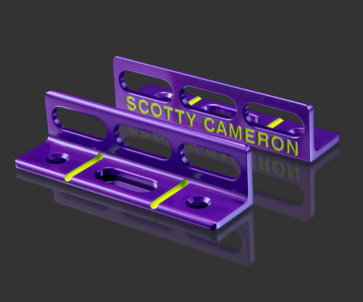 2018 Scotty Cameron poniendo ruta herramienta brillante Dip púrpura Circle T Tour Uso Ct