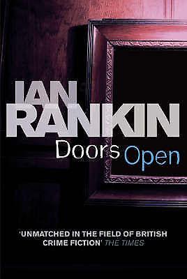 Rankin, Ian, Doors Open, Paperback, Very Good Book