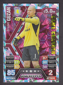 Match-Attax-Extra-2013-14-Game-Changer-GC3-Bradley-Guzan-Aston-Villa