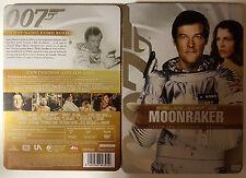 PELICULA DVD 007 JAMES BOND MOONRAKER EDICION METALICA 2 DISCOS