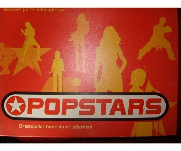 Popstars, brætspil