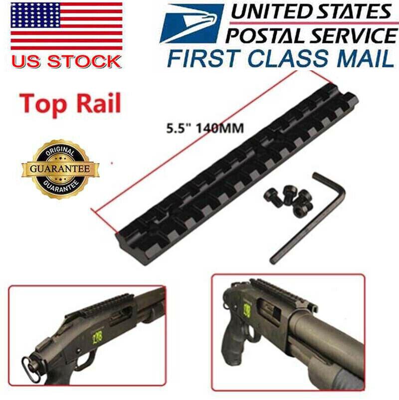 Hunting 9 Slots rail section 20mm Picatinny Weaver rail base mount for Rifle