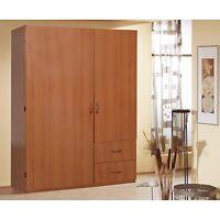 Armoire Wardrobe Storage Closet Organizer Bedroom Furniture Cabinet Cloth Cherry