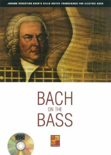 Bach On The Guitar BWV 1007 1008 1009 Play Classical BASS MUSIC BOOK /& CD