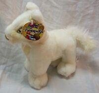 Neopets 2004 White Lupe 7 Plush Stuffed Animal Toy W/ Tag