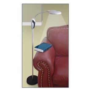 Cordless tall deluxe sunlight led magnifying floor lamp for Natural light reading floor lamp
