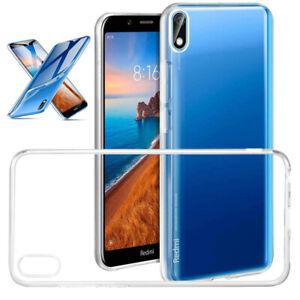 Per-Xiaomi-Redmi-8A-8-7A-7-6A-5A-6-Antiurto-Clear-Soft-TPU-Silicone-CUSTODIA-COVER