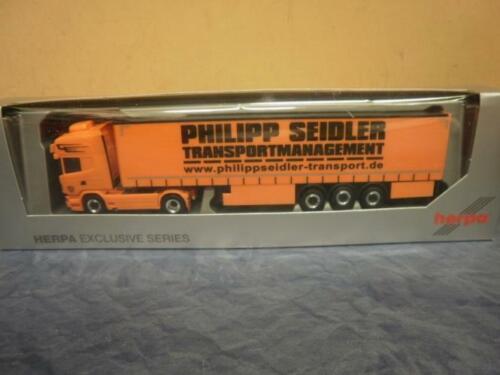 Herpa camiones scania R topl.//aerop ga-ksz Phillip lópez 926744