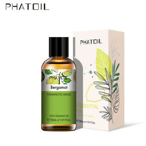 PHATOIL-10-30-100ML-Bergamote-100-Pure-Aromatherapie-Huiles-Essentielles-Bio
