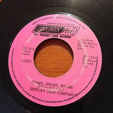 "Shirley (And Company)-Shame Shame Shame-7"" 45-Jamaica-London V1 532-Vinyl Record"