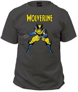 b0c1083a WOLVERINE - X-Men - T SHIRT S-M-L-XL-2XL Brand New - Official Marvel ...