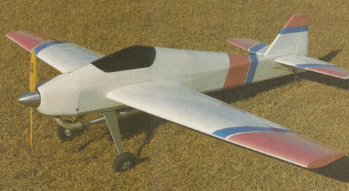 Giant Megna 25 Sport Pattern Plane Plans, Templates and Instructions 78ws