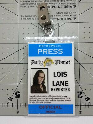 Superman Lois /& Clark ID Badge-Lois Lane Reporter cosplay prop costume