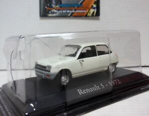 RENAULT-5-1972-BLANCO-WHITE-1-43-IXO-RBA