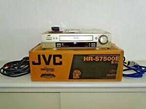 JVC HR-S7500 High-End S-VHS Videorecorder in OVP, 2 Jahre Garantie