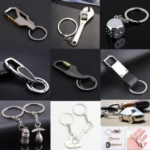 Creative Metal Alloy Key Chain Key Ring Pendant Keyfob Car Keyring Keychain Gift