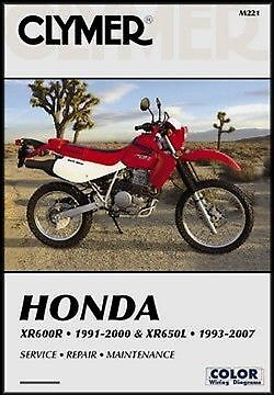 honda xr600 xr600r xr650 xr650l service repair manual ebay rh ebay com Motorcycle Controls Diagram Alabama Motorcycle Manual