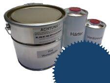 1,5 Set Litre 2K Revêtement de sol RAL 5009 Azur bleu Glanz Peinture Atelier
