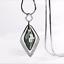 Damen-Halskette-mit-Anhaenger-Silber-lange-Kette-Schmuck-Geschenk-Weihnachten Indexbild 3