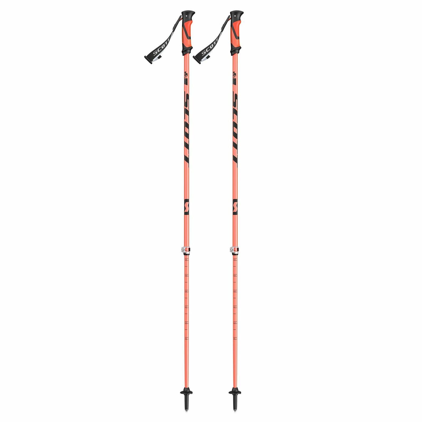 Scott antidisturbios 16 2-parte  poste ajustable de Esquí Touring 115cm-140cm Naranja  los clientes primero