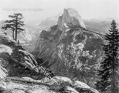 William Henry Jackson Photo, Half Dome, Yosemite, 1870s