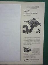 3/62 PUB SIERRA MASQUE OXYGENE MASKE MS 22001 SAUERSTOFF ATEMMASKE GERMAN AD