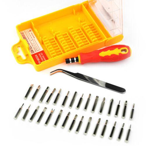 32-In-1 Portable Precision Screwdriver Set Multifunction Repair Screw Diver Set