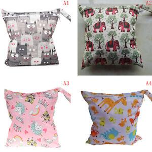 Details About Wet Bag Washable Reusable Cloth Diaper Nies Bags Waterproof Baodus