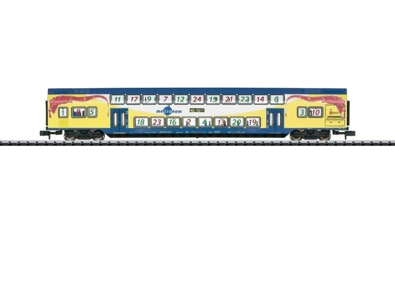 Trix 15396 doppio carrello Bastone dbdpza 2. KL. il Tama, Minitrix Traccia N