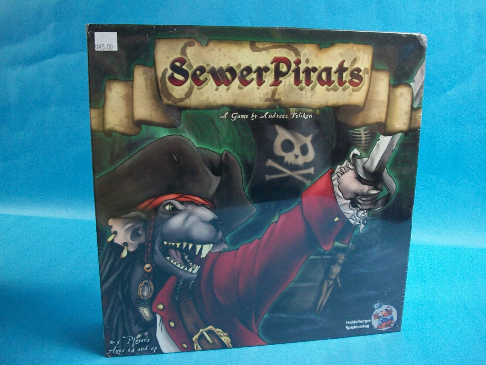 Sewer Pirates Board Game Heildelberger Spieleverlag