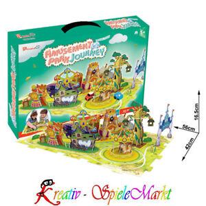 Spielzeug 3d Puzzle Freizeitpark Diorama Aromatischer Geschmack GüNstiger Verkauf Cubic Fun