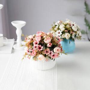 Pfingstrose-Blume-Hochzeit-Dekor-Die-Seide-Rose-Kuenstlich-Blume-Pfingstrose-Fine