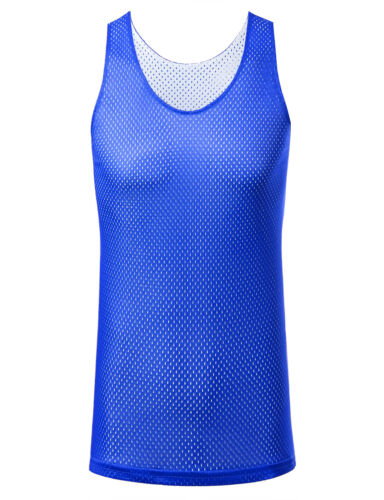 ARC Clearance Men Sport Reversible Mesh Tank Top Low Inventory