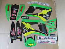 TEAM CHEVY TRUCKS  GRAPHICS KAWASAKI KX85 KX100  2001-2013