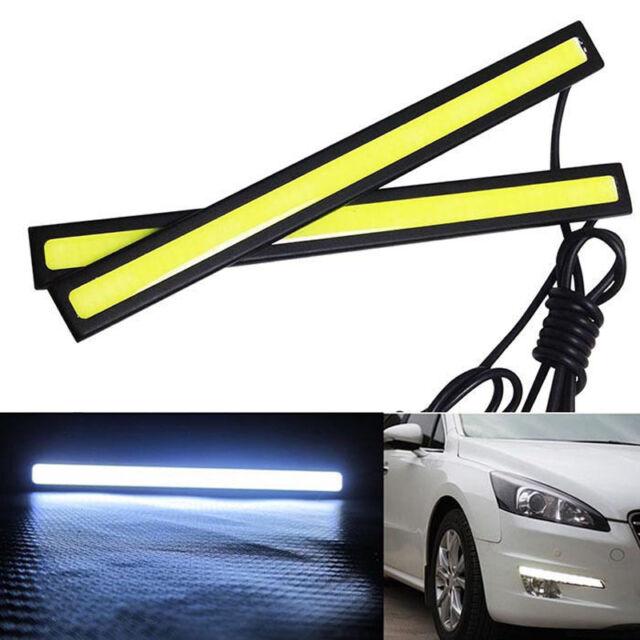 12V LED COB Car Auto DRL Driving Daytime Running Lamp Fog Light 14cm 17cm LOT